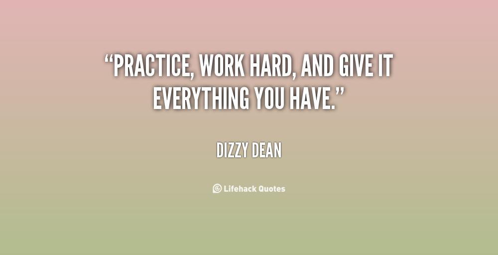 practice quotes  quotesgram