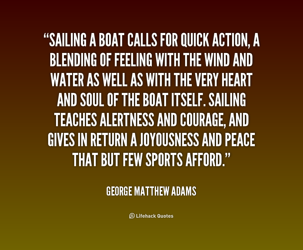 Cool Sailing Quotes Quotesgram