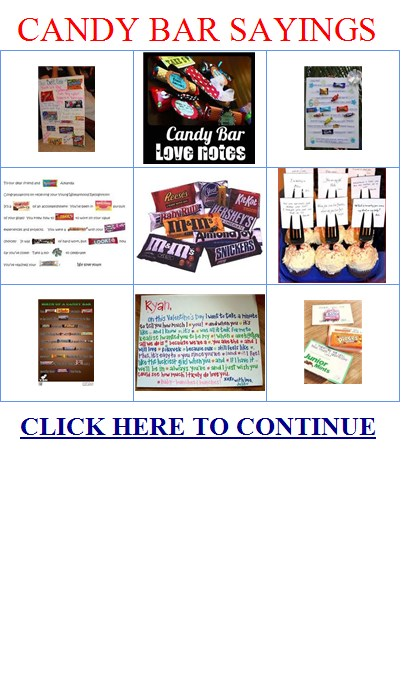 Candy Bar Quotes Quotesgram