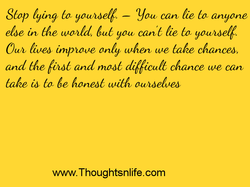 how to stop thinking about yourself