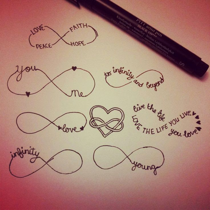 Tattoo Name Quotes: Infinity Tattoos With Names And Quotes. QuotesGram