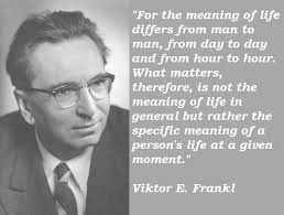viktor frankl and free will Man's search for meaning (1946) by viktor e frankl is one of the most life-changing books i have ever read there are only a handful of books that have permanently.