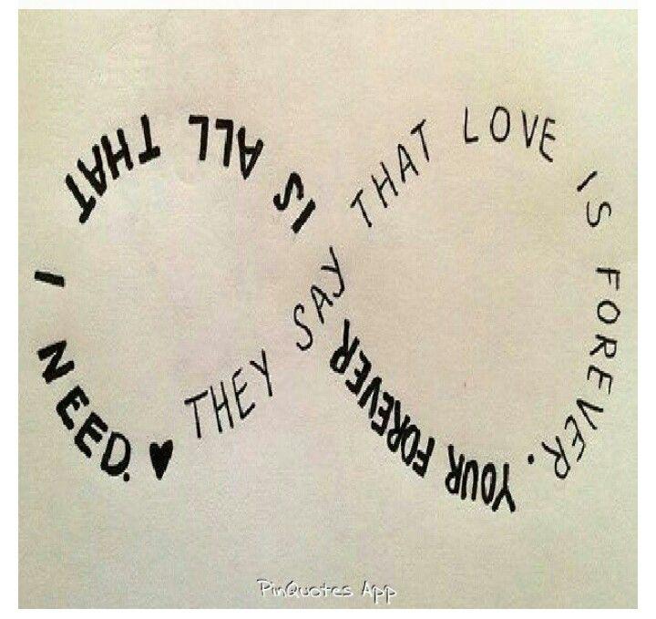 Infinity Symbol Quotes. QuotesGram