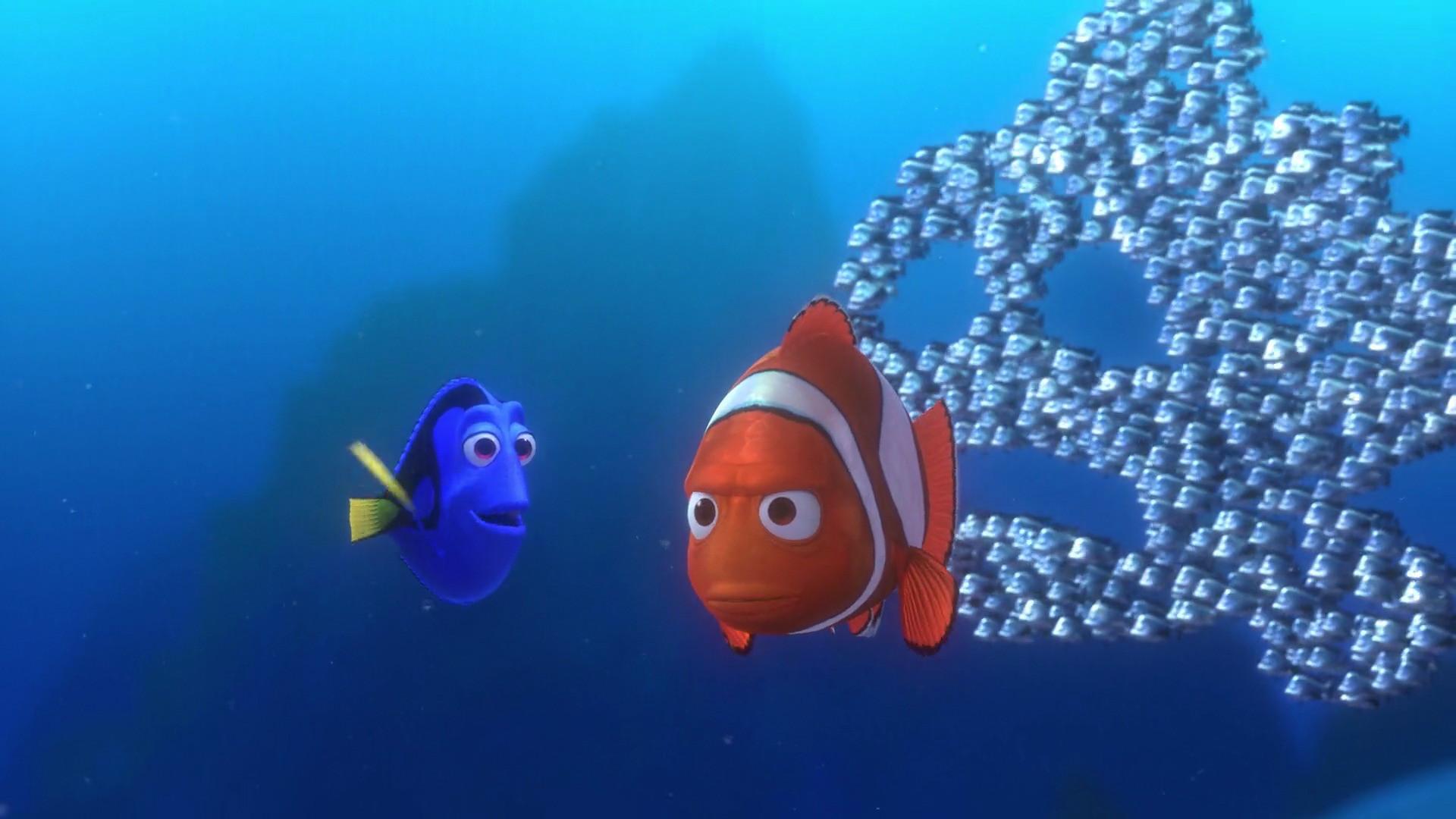 School of fish quotes quotesgram for Finding nemo fish