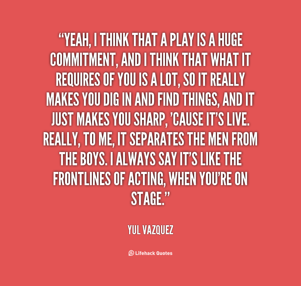 Theater Quotes: Theatre Quotes And Sayings. QuotesGram