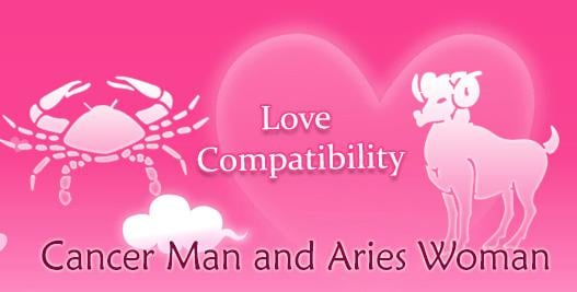 Aries woman dating cancer man