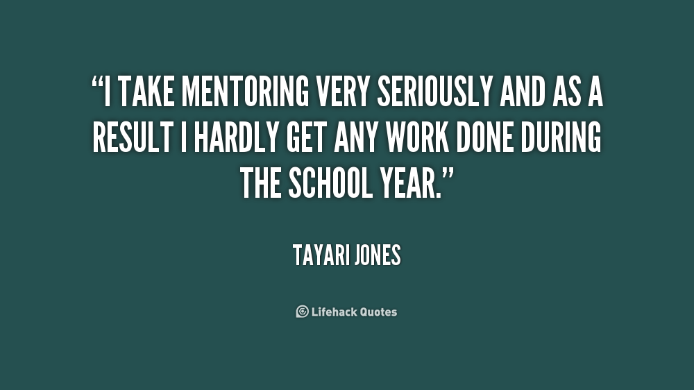 Quotes About Mentoring Quotesgram