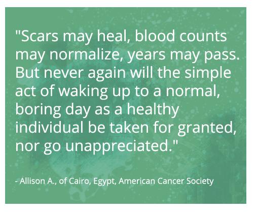 Colon Cancer Survivor Quotes Quotesgram