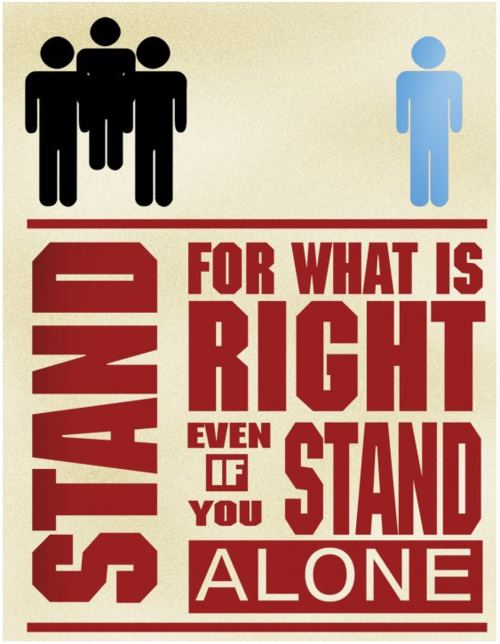 Stand Up For Justice Quotes Quotesgram
