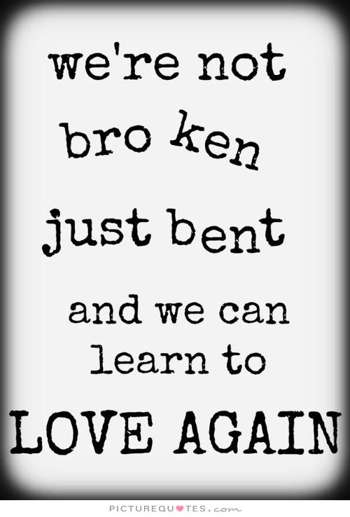 learning to love again quotes quotesgram