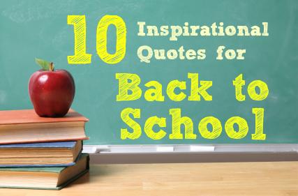 inspirational quotes beginning of school year quotesgram