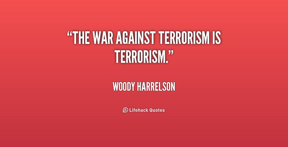an essay on war against terrorism