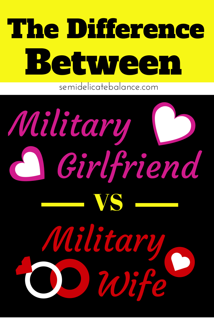 being a military wife For any of you gals out there who are new to military life, or about to become a military bride, there are a few things every military wife should know.