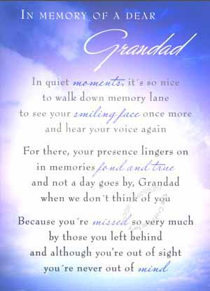 Missing Grandpa In Heaven Quotes Quotesgram