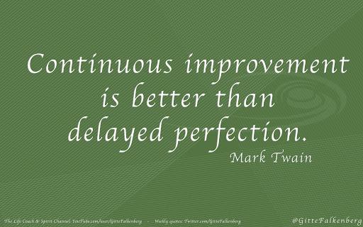 Continuous Improvement Quotes Quotesgram