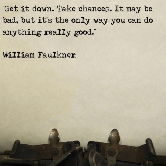 william faulkner writing style