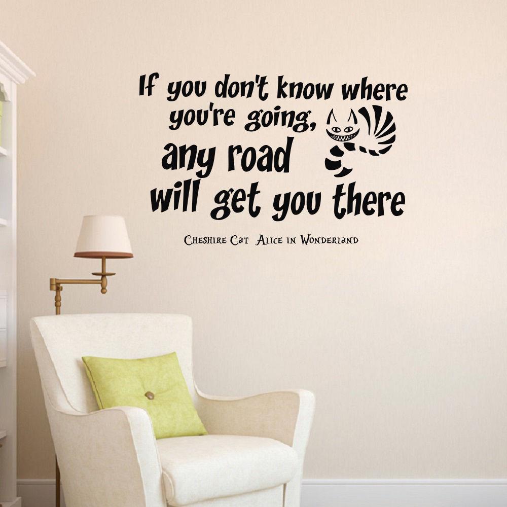 Cheshire Cat Alice In Wonderland Quotes: Cheshire Cat Wall Quotes. QuotesGram