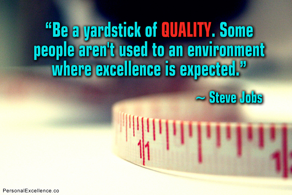 Inspirational Quotes About Quality Quotesgram
