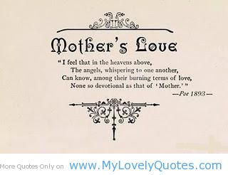 Mothers Love Quotes And Poems. QuotesGram