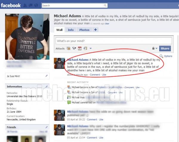 how to delete facebook friend status