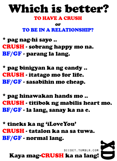 Message sweet for boyfriend tagalog Tagalog Sweet