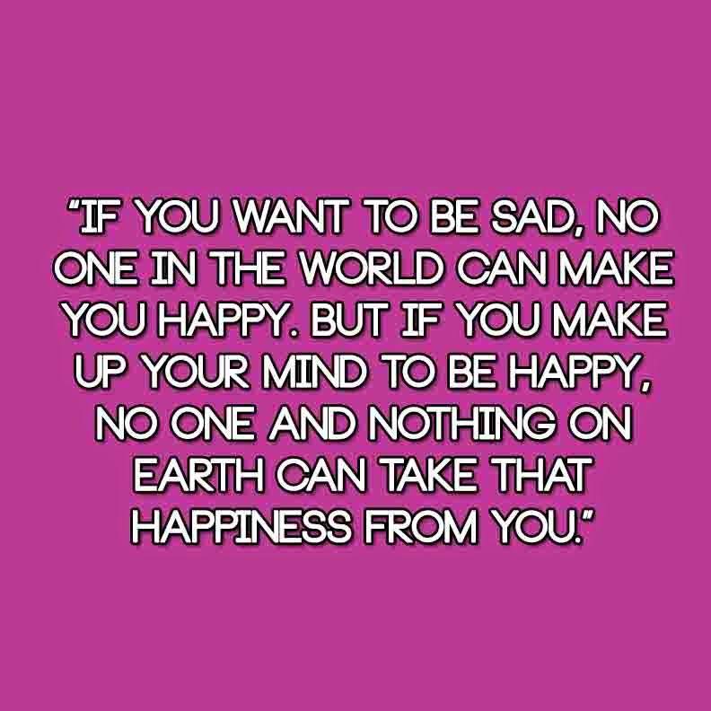 Quotes About That One Person That Makes You Happy: Sad Quotes When You Make To Your Happy. QuotesGram