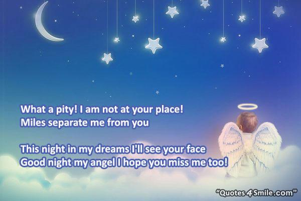My angel quotes goodnight Good Night