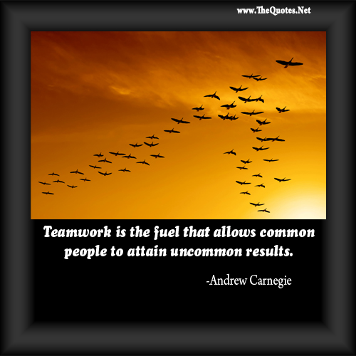 Motivational Quotes For Sports Teams: Best Quotes About Teamwork. QuotesGram