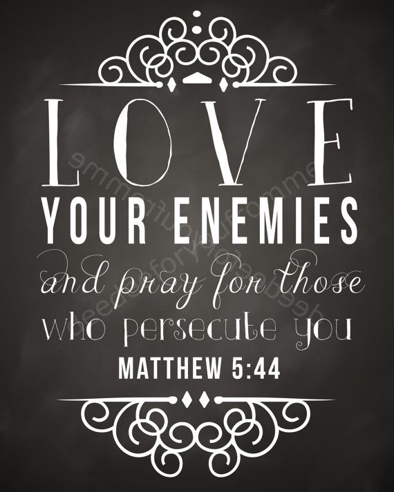Bible Quotes About Your Enemies QuotesGram