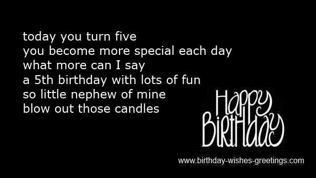 Happy 5th Birthday Quotes For Daughter: Baby Nephew Quotes. QuotesGram