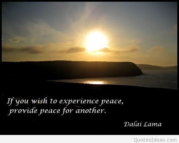 Peace Quotes And Sayings Quotesgram: 2015 Peace Quotes. QuotesGram