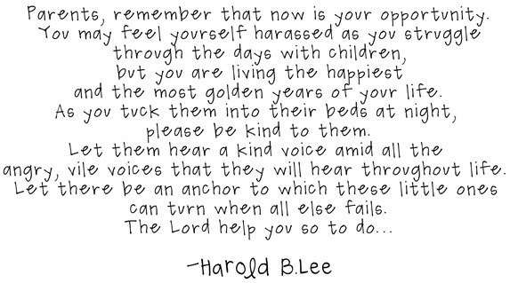 Harold B Lee Quotes Quotesgram