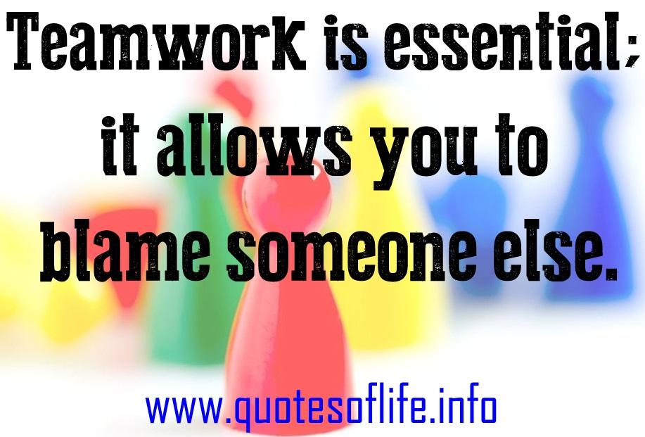 Teamwork Quotes Clip Art Quotesgram