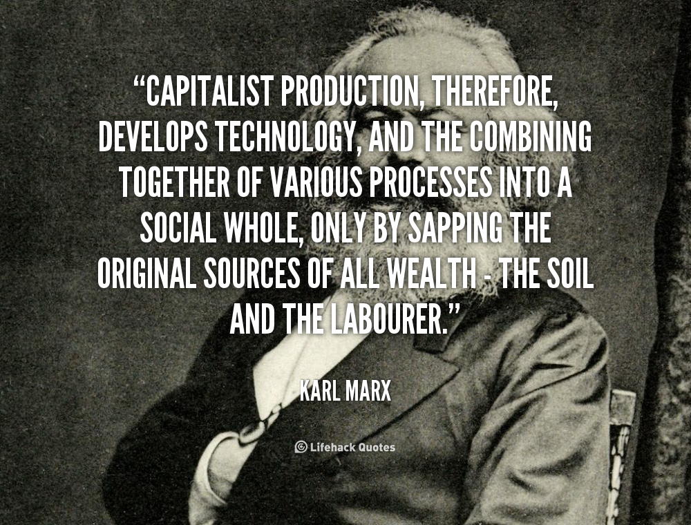 marx s on capitalism Marx's analysis of capitalism excerpt and condensation of chapter 6 from the worldly philosophers: the lives, times, and ideas of the great economic thinkers by robert l heilbroner, 7th ed, 1999 robert heilbroner's the worldly philosophers is a uniquely readable introduction to the lives and ideas of the great economic theorists of the.