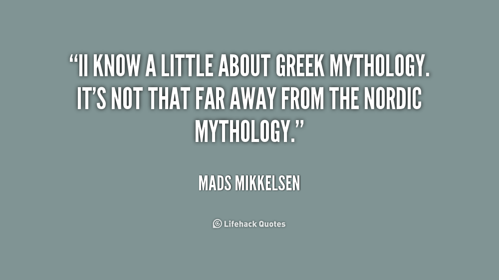 Quotes About Greek Mythology: Greek God Famous Quotes. QuotesGram