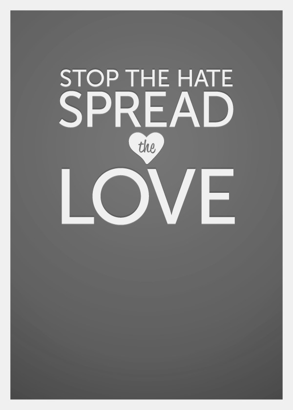 love not hate Discover and share love not hate quotes explore our collection of motivational and famous quotes by authors you know and love.