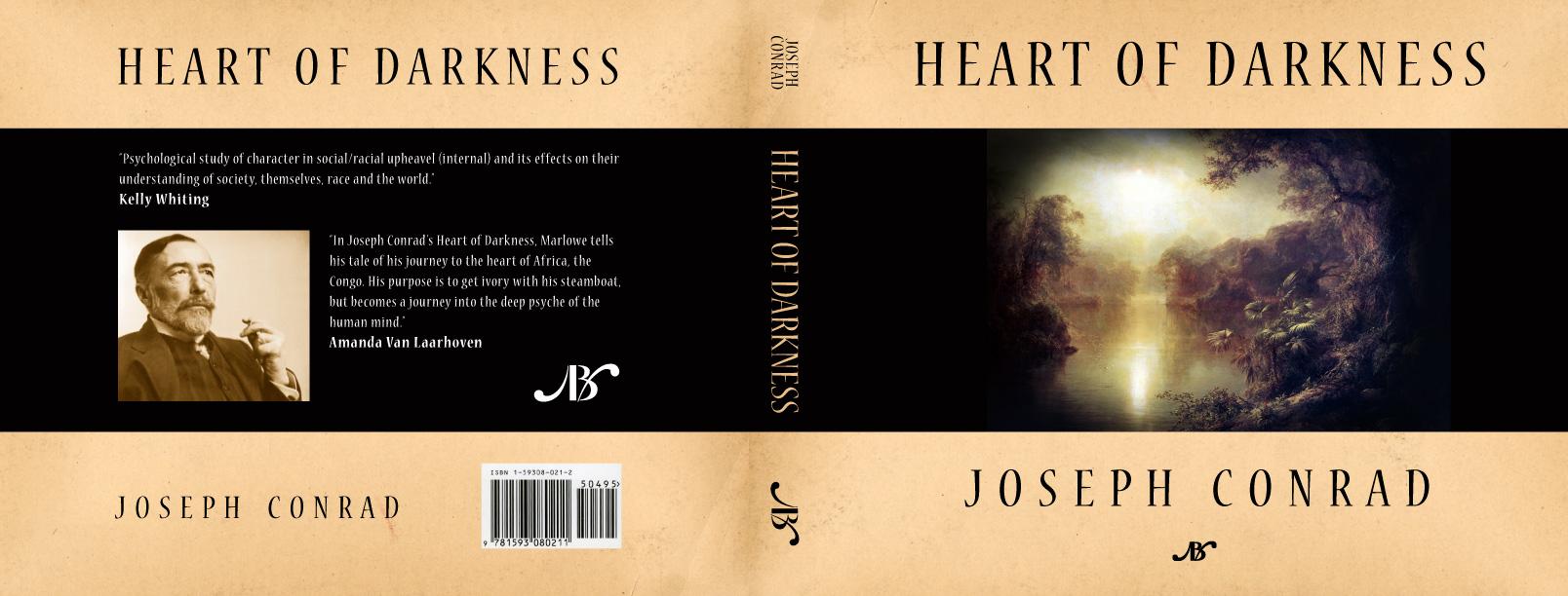 heart of darkness psychological novel