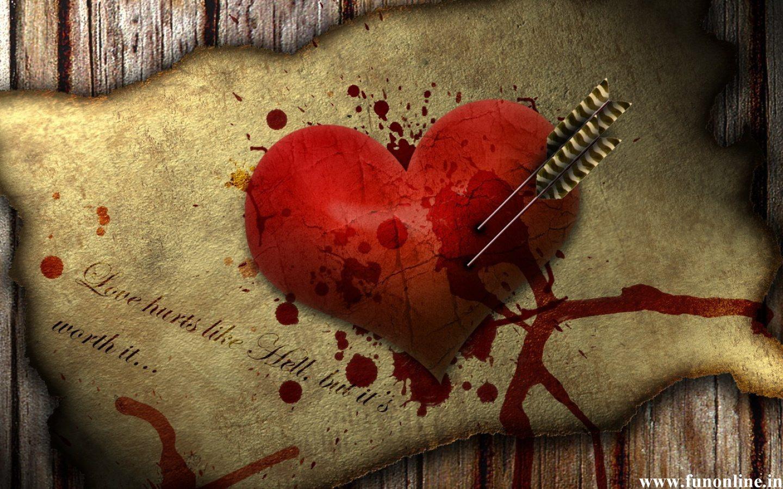 картинки с израненным сердцем руки сердца первый