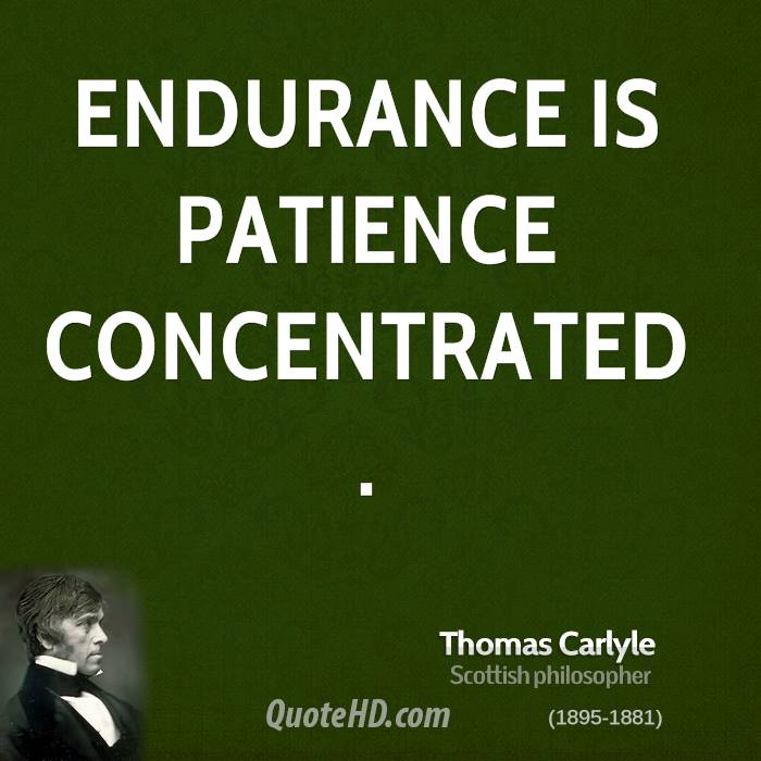 Persistence Motivational Quotes: Quotes About Patience And Endurance. QuotesGram