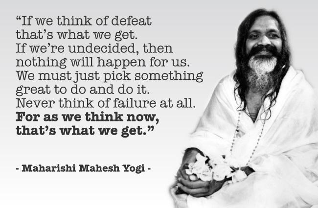 maharishi mahesh yogi quotes quotesgram