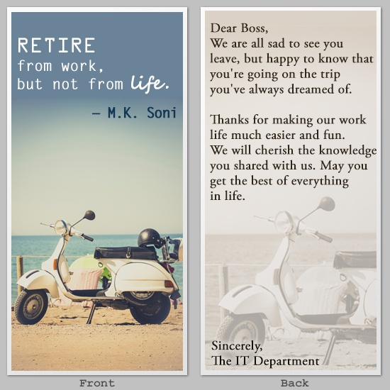 Quote For Retirement Wishes: Best Wishes Retirement Quotes. QuotesGram