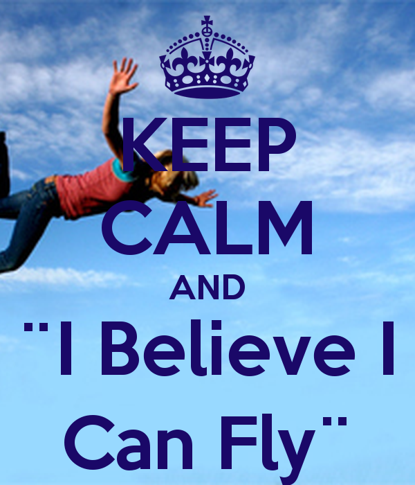 I believe i can fly (1) posts by teresa shields parker