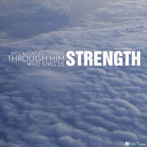 Quotes On Strength Bible: Great Bible Quotes About Strength. QuotesGram