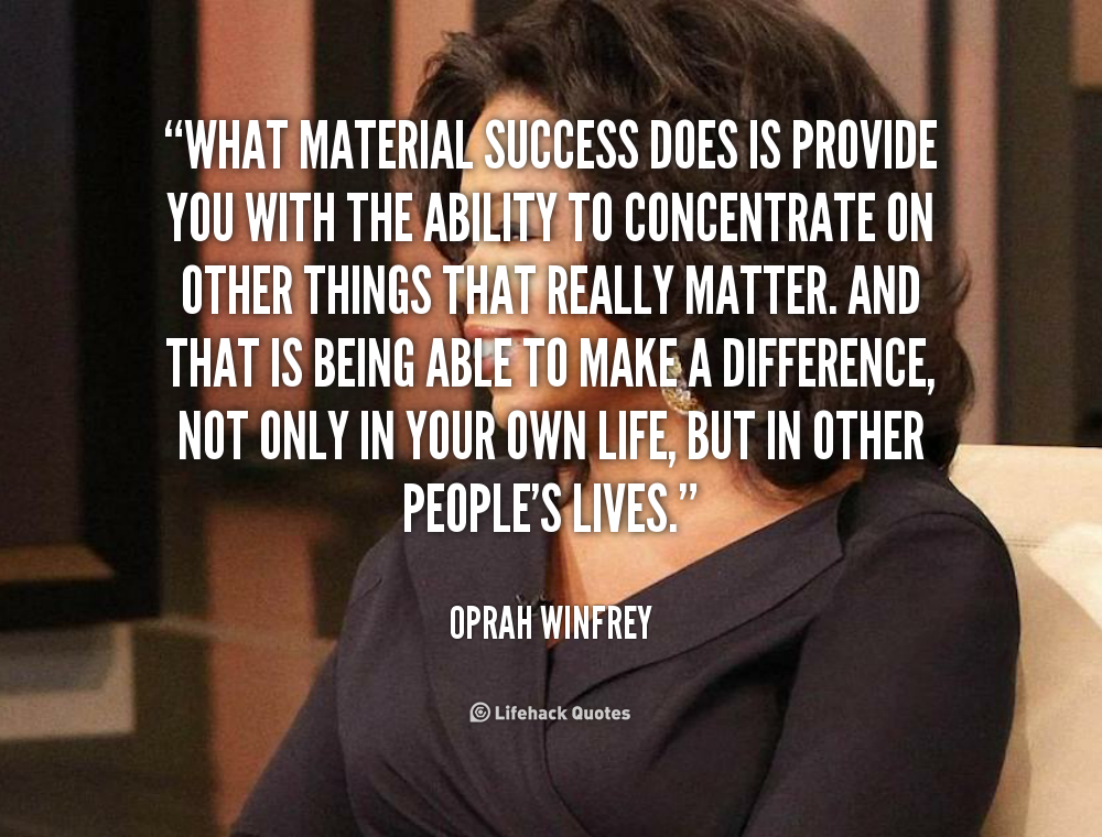 the secret to oprah winfreys success The secret is a best-selling 2006 self-help book by rhonda byrne, based on the earlier film of the same due partly to an appearance on the oprah winfrey show.