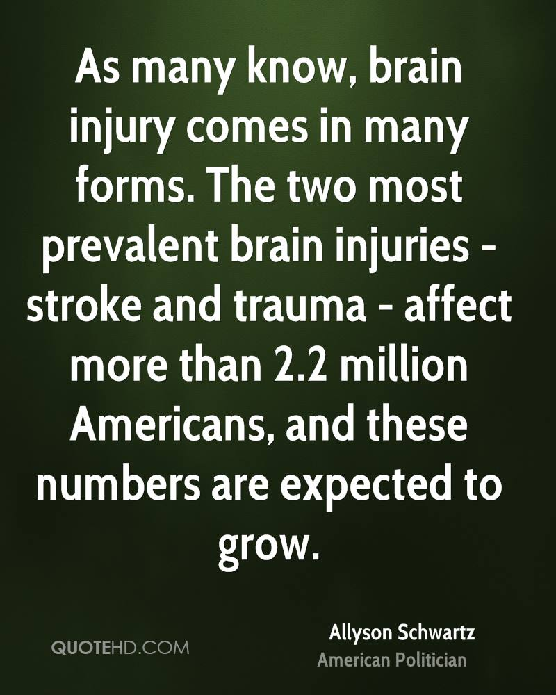 Inspirational Quotes About Positive: Brain Injury Inspirational Quotes. QuotesGram