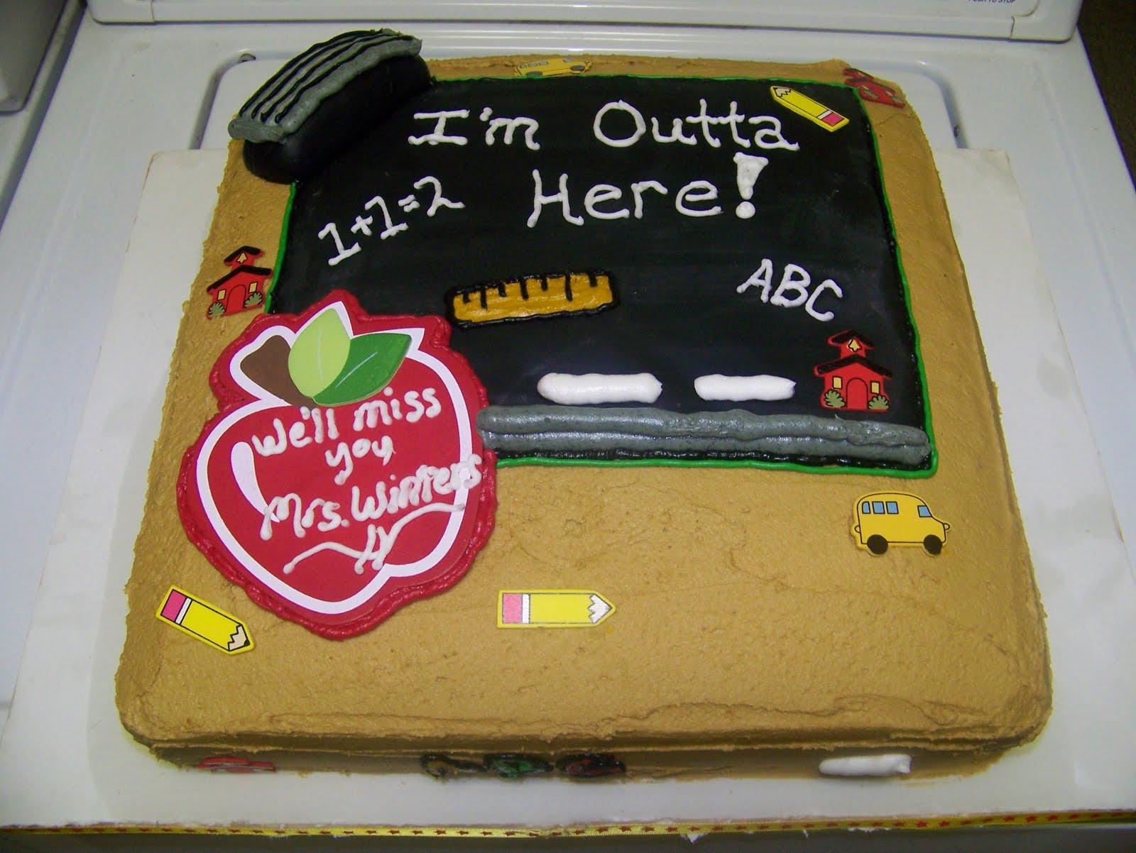 Retirement Party Cake Designs