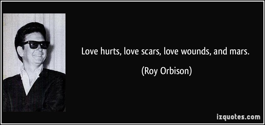 Feelings Heal Love Pain Quote Scars: Quotes On Emotional Wounds. QuotesGram