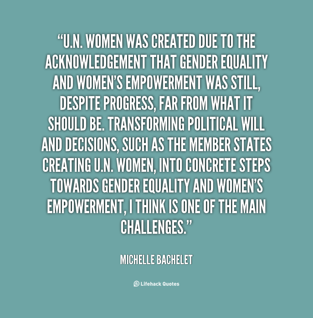 Equality For Women Quotes: Quotes About Gender Discrimination. QuotesGram