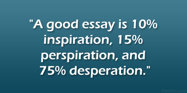 quotes on essay writing
