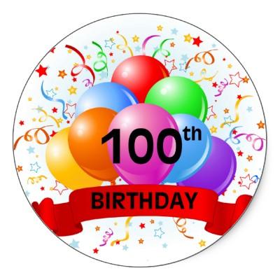 100th Birthday Quotes Quotesgram